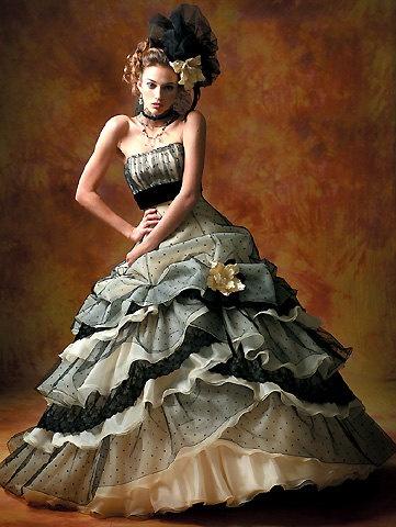 Vestiti Da Sposa Gotici.Abiti Da Sposa Gotico Passionemoda